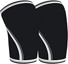 Warm Knee Pads Kneepad,Knee Strap Relief Tendonitis Pain - Patella Brace Anti-Slip Silicone Band - Support for Squats, Basketball, Soccer, Jumpers Knee,Hiking - for Men and Women