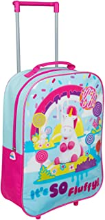 MINIONS Unicorn It's So Fluffy Children's Cabin Size Suitcase, with Wheels and Handle, Multi Colour