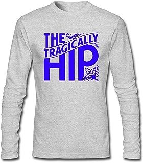 Hefeihe DIY The Tragically Hip Man Machine Poem Men's Long-Sleeve Fashion Casual Cotton T-Shirt