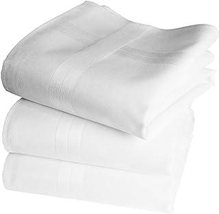 BETZ 4 Pièce Messieurs Tissu Mouchoirs dans la boite Cadeau 100/% coton