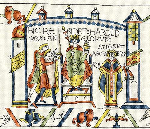 Bothy Threads Kreuzstich-Set, Bayeux Tapisserie The Coronation