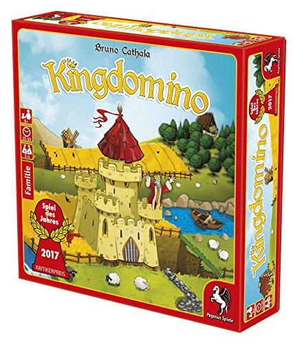 Pegasus Spiele 57104G – Kingdomino, Spiel des Jahres 2017 - 2