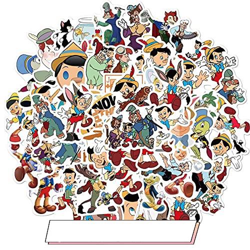 JZLMF 50 unidades de marionetas para ordenador, teléfono móvil, portatil, taza de agua, equipaje, creativo, graffiti, personalidad, pegatinas impermeables