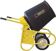 Wheelbarrow Mixer, 3.5 cu ft, 115V, 1/2HP