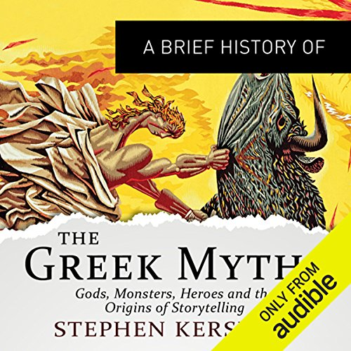 A Brief History of the Greek Myths audiobook cover art