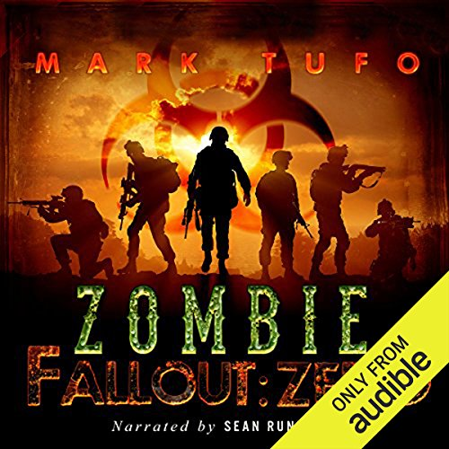 Zombie Fallout: Zero audiobook cover art