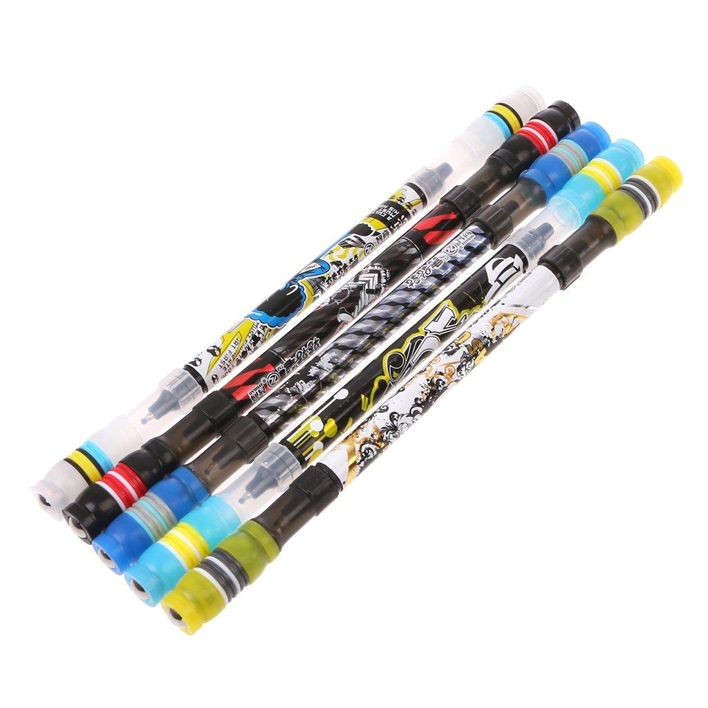niumanery Non Slip Coated Spinning Ballpoint Pen Rolling Finger ...