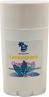 Lemongrass and Grapefruit Scented Aluminum Free Antiperspirant & Deodorant by Kym's Diva Stuff