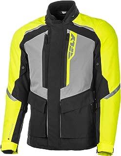 Fly Racing Terra Trek Jacket (Large) (Black/HI-VIS)