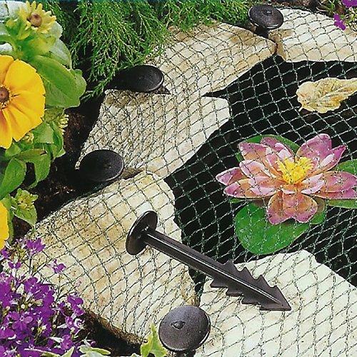 Heron vijver Cover Net - Tuin Koi Visvijver Zwembad Netting Vos Beschermer + Pegs, 6 x 5m