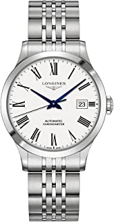 Longines Record Automatic White Dial Men's Watch L28204116