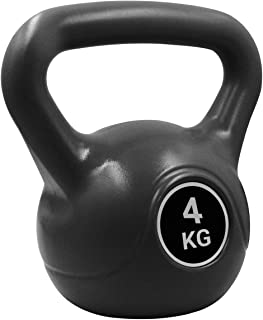 Pure2Improve Kettlebell 4 kg Nero allenamento di resistenza