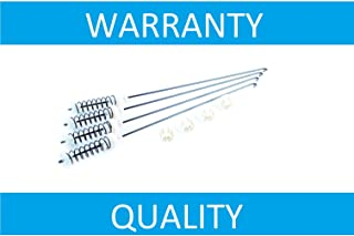 NEW W10780048 Suspension Rods for Whirlpool Washer Replacement W10189077 W10349191 AP5985113 ERW10780048 W10349193, PS11723157, 1878257, PS3418737, LP22874 by PrimeCo - 1 YEAR WARRANTY