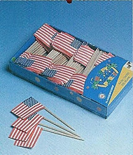 Flaggen-Picker USA 200er Pack