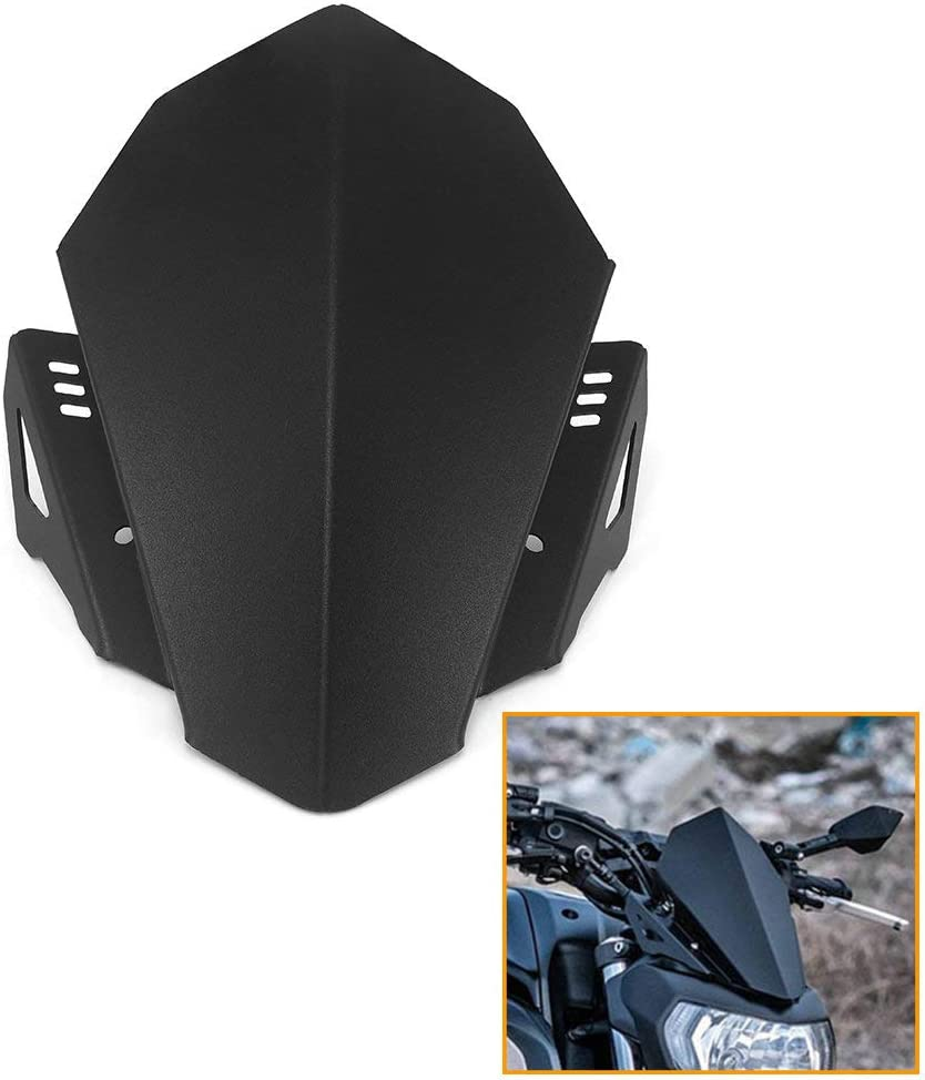 QIDIAN Motorcycle Aluminum A surprise price is realized Windscreen Deflector Wind Import Windshield