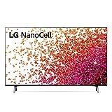 """LG NanoCell 43NANO756PA Smart TV LED 4K Ultra HD 43"""" Serie Nano 75, con Wi-Fi, Processore Quad Core 4K con AI, Nano Color, FILMMAKER MODE, HDR 10 Pro, Google Assistant e Alexa Integrati"""