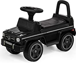 Mercedes-Benz Maserati Officially Licensed Bentley Toy Car for Riding, Foot-Powered, Fall-Prevention Stopper, Backrest, Opening/Closing Seat, Storage Space, Multi-Function Handle with Music Feature