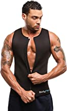 Body Maxx Men's Body Slimming Vest - Weighted Vest Men - Weighted Clothing - Slimming Belt - Body Shaper for Men Belly Fat - The Ultimate Men's Slimming Body Vest - Weighted Workout Vest Weight