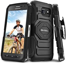 Galaxy S7 Active Case, Evocel [New Generation] Dual Layer Rugged Holster Case with Kickstand & Belt Clip for Samsung Galaxy S7 Active SM-G891 (Does NOT fit Regular S7 - S7 Active only), Black