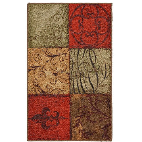 Wear-free Performance and Stain Resistance Tuscany Kitchen Rug, Multicolor