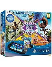 console PlayStation Vita + Hits Mega Pack + Carte mémoire 8Go pour [importazione Francese]