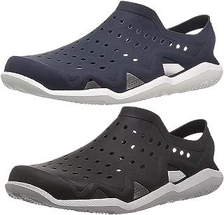 Ethics Combo Pack of 2 (Black/Navy Blue) Rubber Clogs for Men's