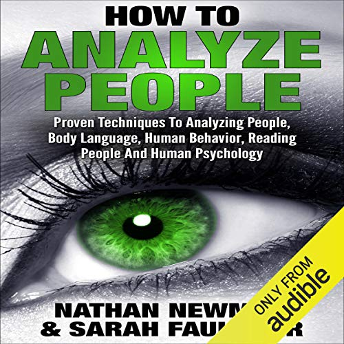Analyze People Audiobook By Nathan Newman, Sarah Faulkner cover art