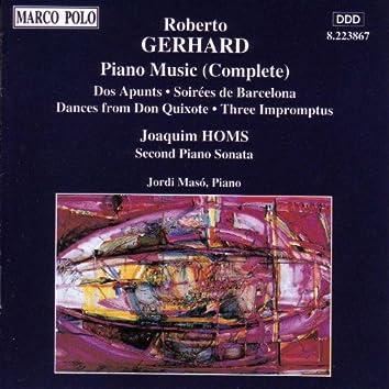 GERHARD: Piano Music (Complete)
