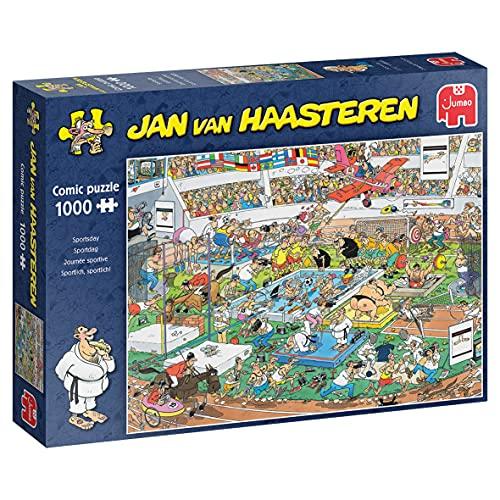 Jumbo 81906 Jan Van Haasteren Sportlich, sportlich! 1000 Teile Puzzle