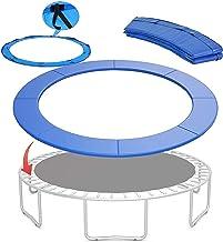 WSVULLD Vervanging Trampoline Surround Pad, Waterdichte Upper Bounce Trampoline-accessoires Veerbekleding voor ronde frame...