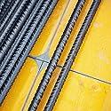 Betonstahl im Durchmesser 4 mm bis 16 mm auswählbar Bewehrungsstahl in den Längen 50cm, 75cm, 1,00m, 1,25m, 1,50m oder 2m auswählbar Längentoleranz +/-3mm Streckgrenze 500 N / mm² - Zugfestigkeit 550 N / mm² Lieferumfang: 10 Stück je ausgewählter Grö...
