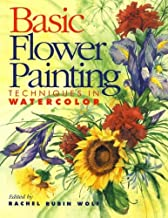 basic flower painting techniques in watercolor