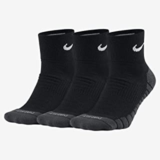 Dri-Fit Half Cushion Quarter Socks (3 Pack)