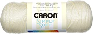 Bulk Buy: Caron Simply Soft Yarn Solids (3-Pack) Off White H97003-9702