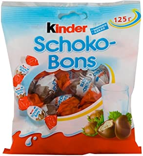 Kinder Choco-Bons 125 gr. Imported from Russia (1 pack)