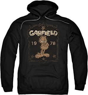 Garfield Est 1978 Unisex Adult Pull-Over Hoodie for Men and Women