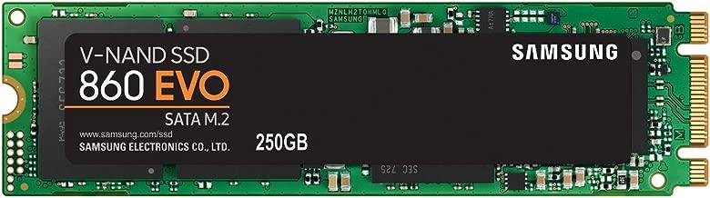 Samsung SSD 860 EVO 250GB M.2 SATA Internal SSD (MZ-N6E250BW)