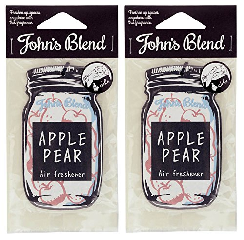 John's Blend(ジョンズブレンド) ルームフレグランス エアーフレッシュナー OA-JON-1-4 アップルペアー セ...