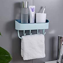 Bathroom rack NO Drill Wall Mounted Shower Shelf Cell Phone Bathroom Shampoo Holder Storage Kitchen Bathroom Hardware,