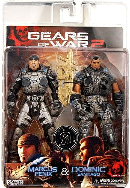 Gears of War 2 Marcus Fenix & Dom Santiago 2-Pack