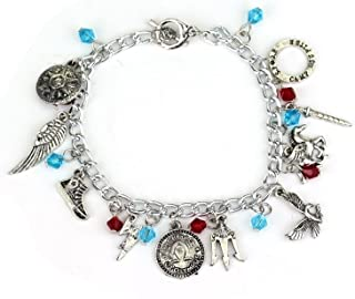 Ivy & Clover Movie Entertainment TV Jewelry Collection (Percy Pegasus Jackson Charm Bracelet)