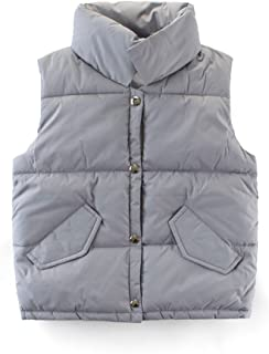 JELEUON Boys Lightweight Soft Warm Hooded Utility Padded Puffer Bubble Vest Winter Jacket