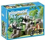 Playmobil Vida Salvaje - Wild Life Pandas en el Bosque de Bambú Playsets (Playmobil 5414)