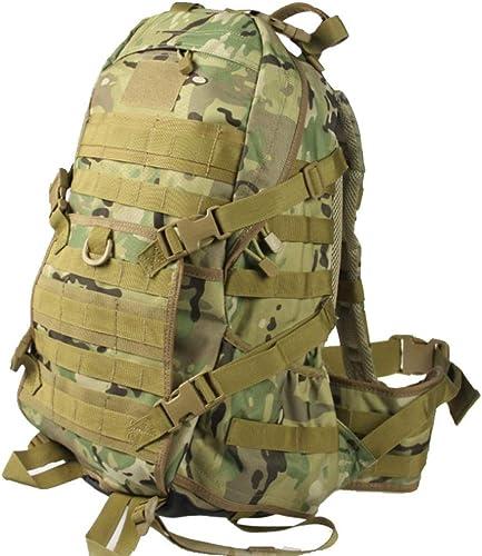 Trekking Daypack, Qualité Tactique épaules Sac à Dos Sac de Sport en Plein air Alpinisme Sac Camouflage Mise à Niveau MultiCouleure (Couleur   Camouflage, Taille   Taille Unique)