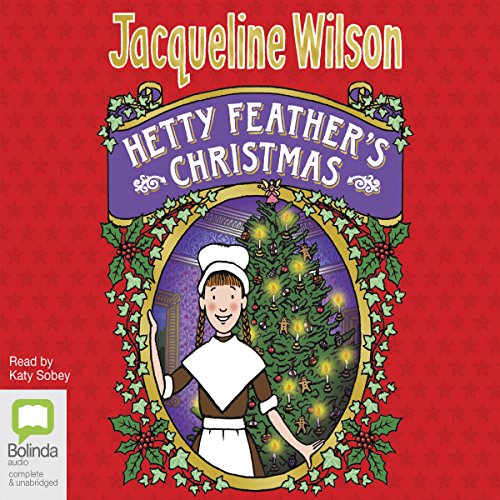 Hetty Feather's Christmas audiobook cover art