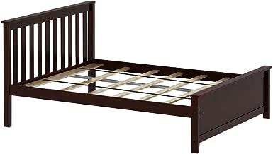 Best espresso full bed frame Reviews