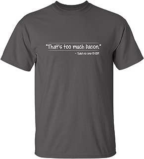 funny bacon shirt