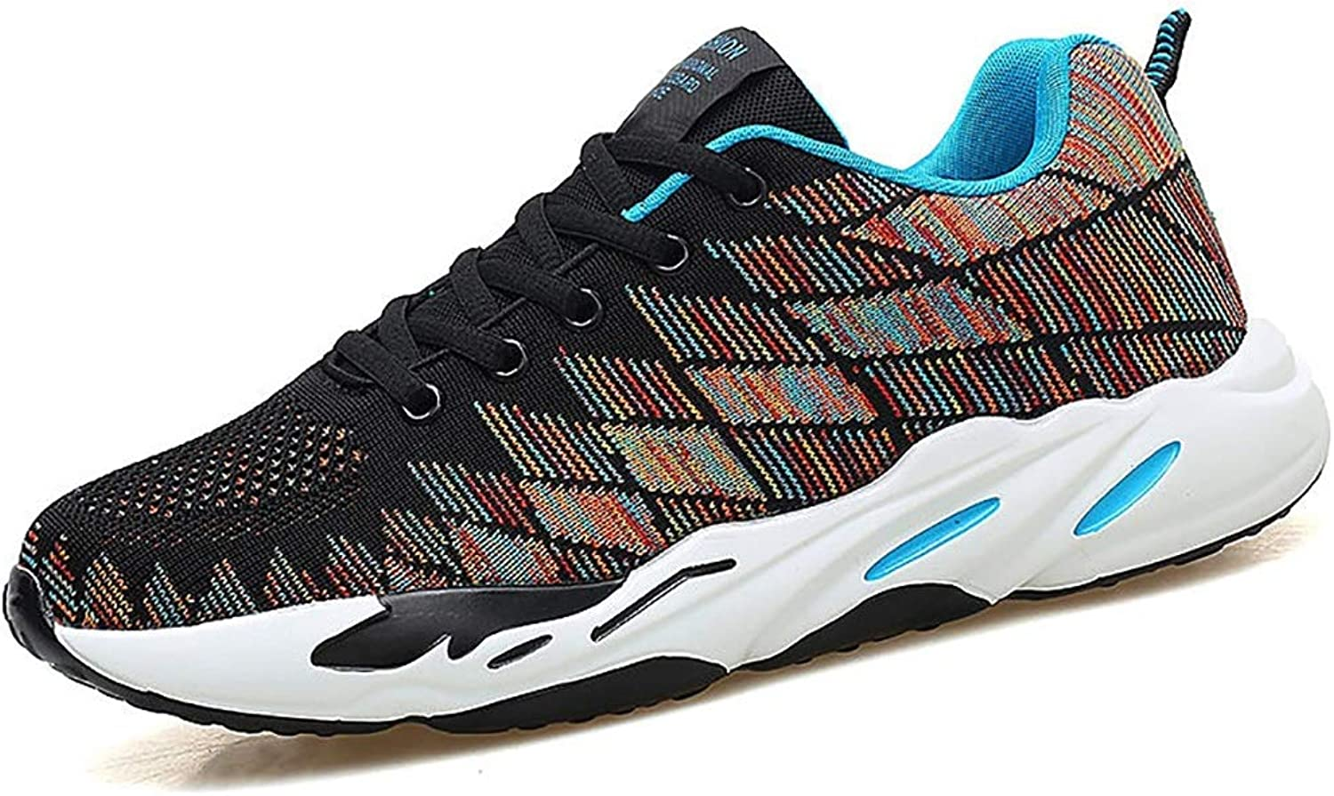 TTRR Spring men's casual shoes running shoes breathable mesh men's shoes teen student shoes (color   C, Size   40)