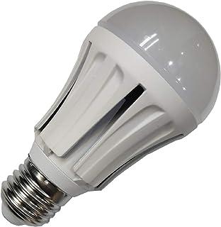 Pack x10 Bombilla LED A60 Aluminio 10w. Equivalencia 100w, no Regulable. 1000 lumenes. A++. (Blanco Calido (3000K))