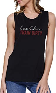 365Printing Women's Work Out Muscle Tee Cute Sleeveless T-Shirt Sports Wear Top
